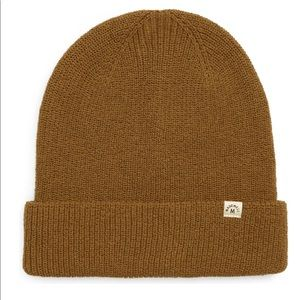 Madewell Weathered Olive+Recycled Beanie+Soft knit+Limit Color+NWT+Cotton
